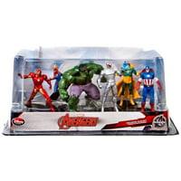 Marvel Avengers 6-Piece PVC Figurine Playset