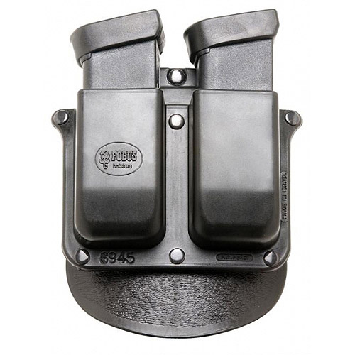 """Fobus Belt-Style Roto Handcuff Double Magazine Combo Holster Pouch for 2-1 4"""" Belt by Fobus"""