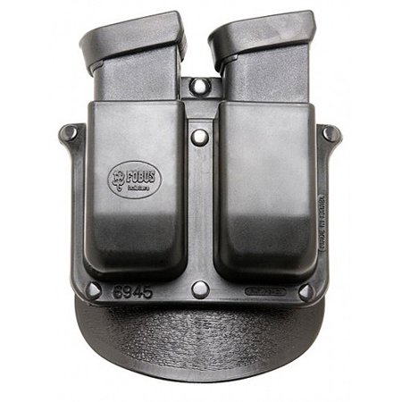 "Fobus Belt-Style Roto Handcuff Double Magazine Combo Holster Pouch for 2-1/4"" Belt"