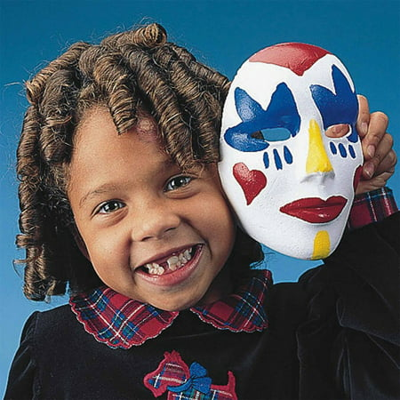 Mask For Boys (Foam Face Mask, Pack of 12)