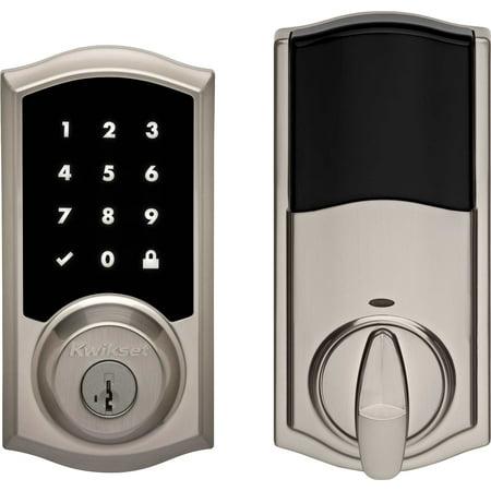 - Kwikset 919TRL-S Premis Touchscreen Smart Lock Single Cylinder Deadbolt with Bluetooth and Apple HomeKit Technology