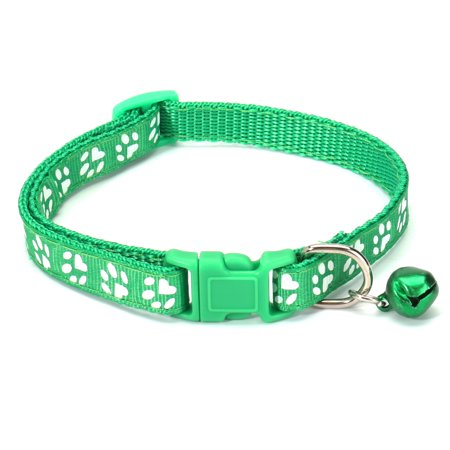 12Pcs Pet Classic Personalized Dog Collar Adjustable Seatbelts 6 Color  - image 4 de 12