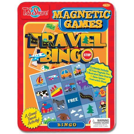 T.S. Shure Travel Bingo Game Tin Play Set](All Halloween Games Play)
