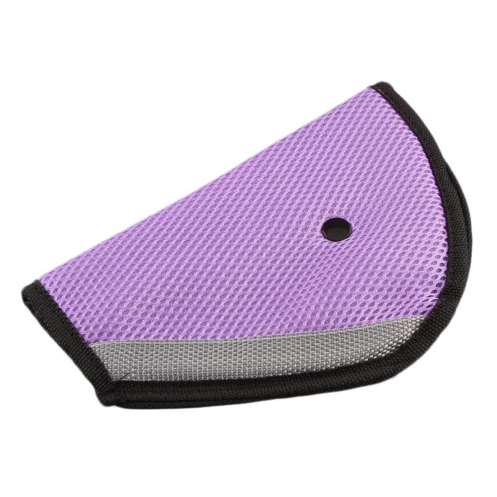 KABOER 2 Pcs  Child Seat Belt Triangle Holder Seat Belt Adjuster Seat Belt Car Creative Interior