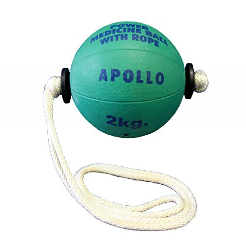 2kg (4.4lb) Power Rope Medicine Ball