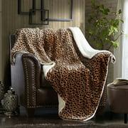 "Merrylife Sherpa Throw Blanket Plush Fleece, 60"" x 70"""