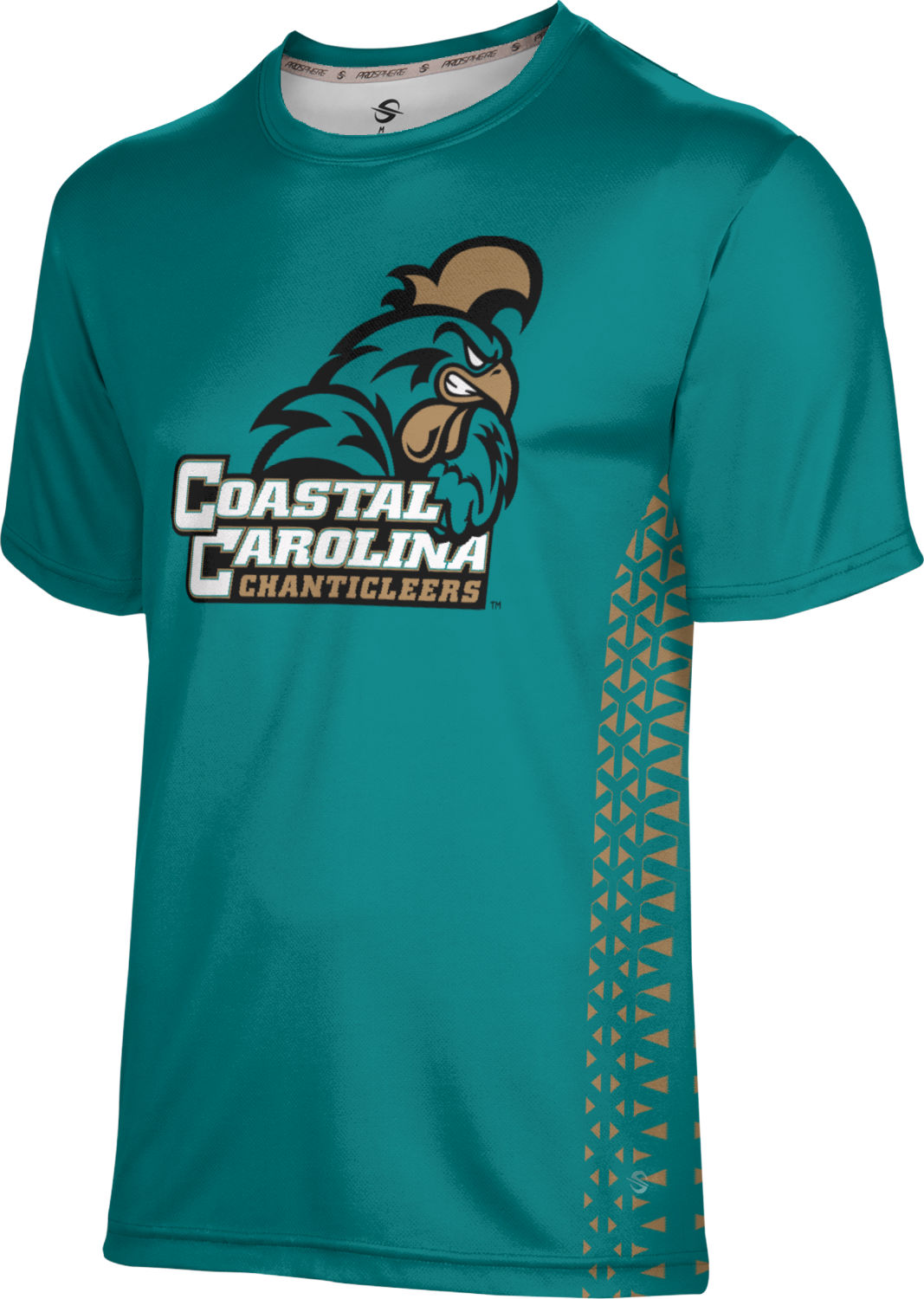 ProSphere Boys' Coastal Carolina University Geometric Tech Tee