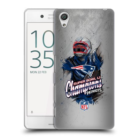 OFFICIAL NFL 2017 SUPER BOWL LI CHAMPION HARD BACK CASE FOR SONY PHONES 1