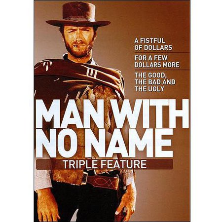 Man With No Name Triple Feature (The Good, the Bad & The Ugly / A Fistful of Dollars / For a Few Dollars (For A Few Dollars More Final Duel)