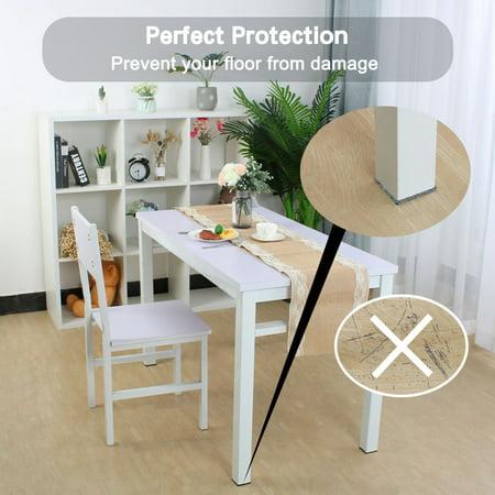 "Felt Furniture Pads 1 1/2"" Self Adhesive Anti-scratch Table Leg Protector 12pcs - image 2 de 7"
