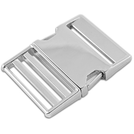 Metal Side Release Buckles - 2 Inch Metal Side Release Buckles