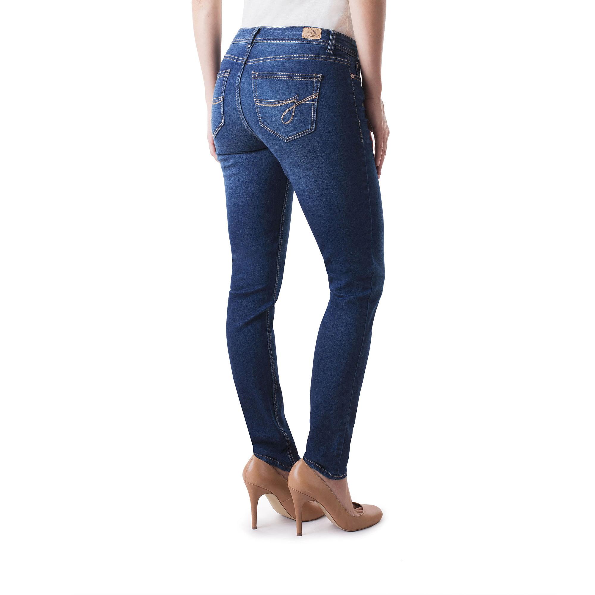 618fa7e463b Jordache - Women s Skinny Jeans Available in Regular and Petite -  Walmart.com