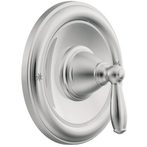 Moen T2151ORB Single Handle Posi-Temp Pressure Balanced Valve Trim Only from the Brantford Collection (Less Valve), Available in Various Colors
