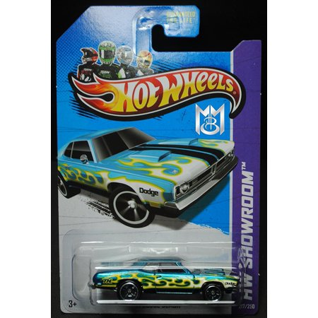 2013 Hot Wheels  217 250  71 Dodge Demon 1 64 Scale Secret Super Treasure Hunt With Real Rider Rubber Tires By Mattel Hot Wheels