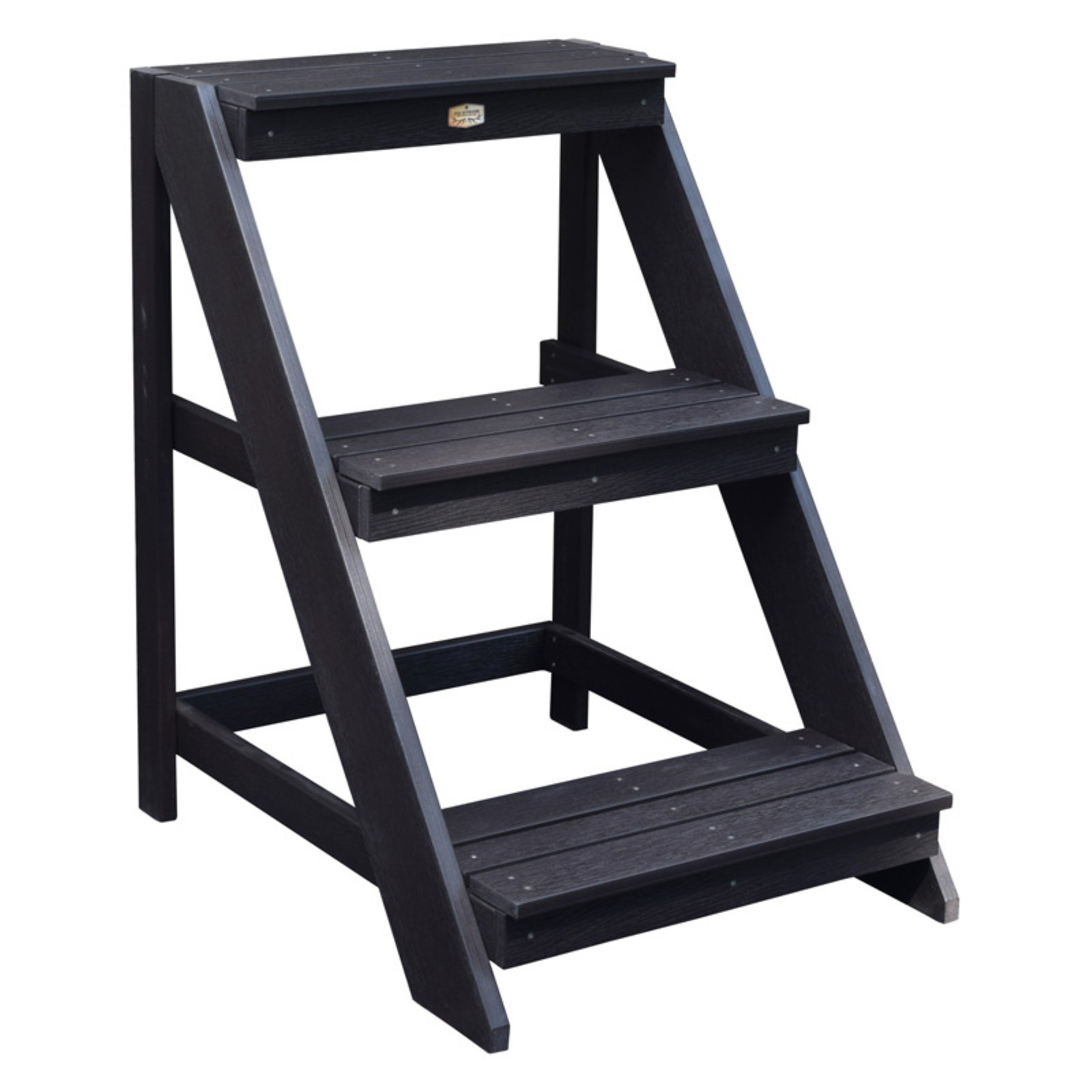 Phat Tommy Highwood Ladder Tiered Recycled Poly Indoor/Outdoor Plant Stand