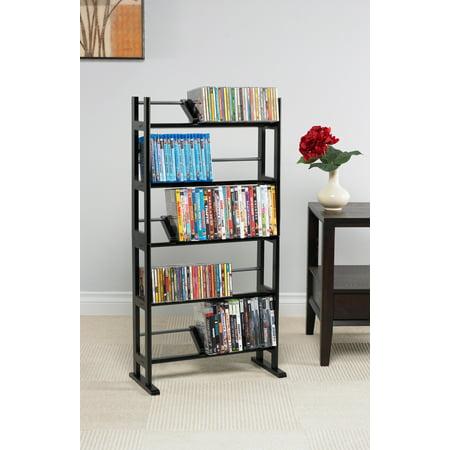 Atlantic Shelf Furniture Element Media Rack, Espresso