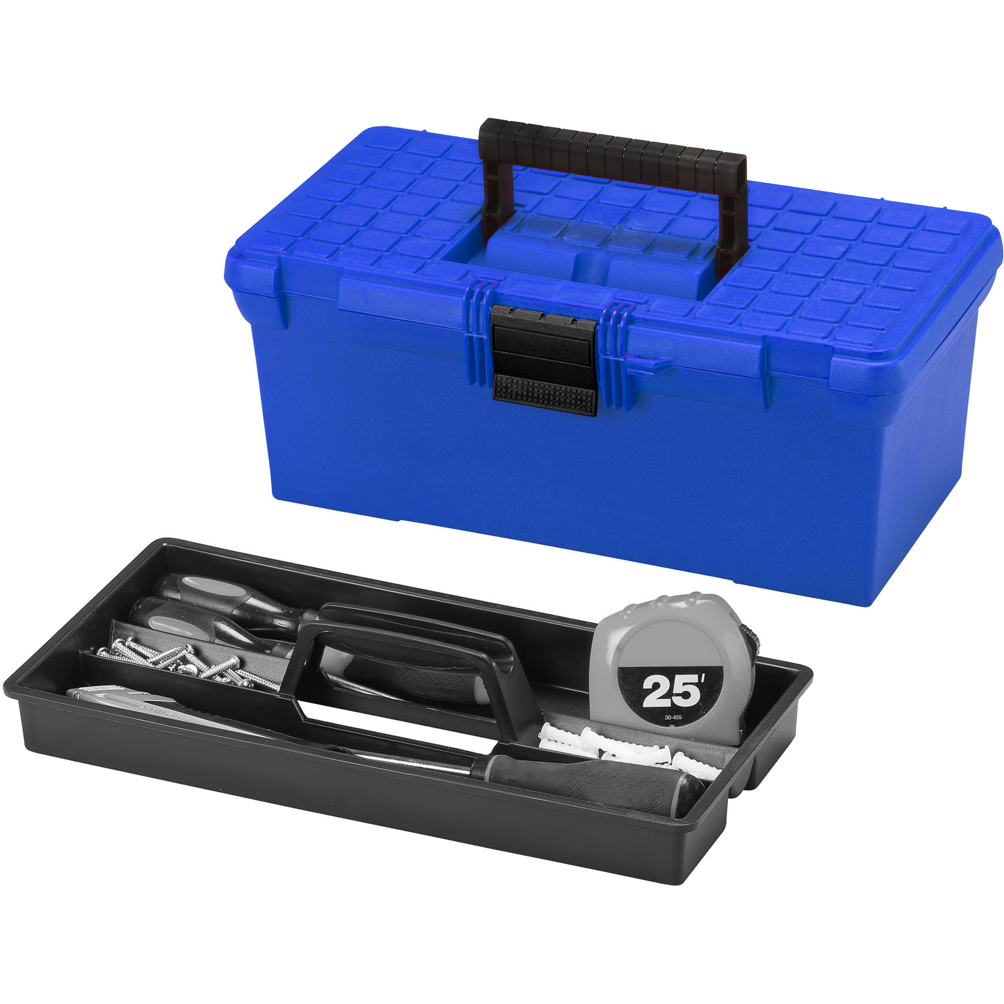 "Hypertough Blue 16"" Toolbox"