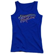 Jefferson Airplane Gradient Logo Juniors Tank Top Shirt