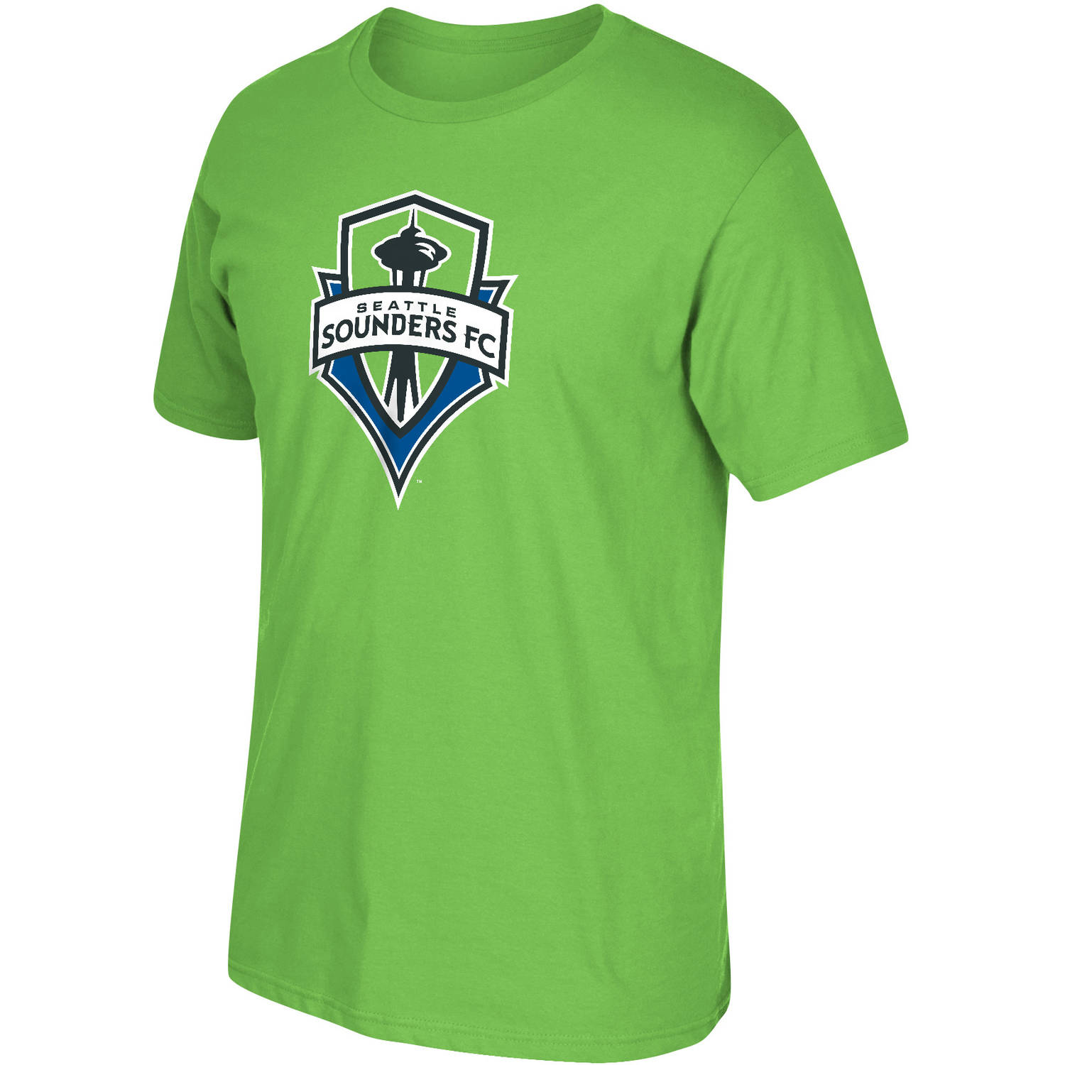 MLS-Seattle Sounders-Men's-Logo Tee
