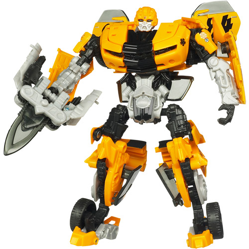 Transformers Dark Side of the Moon Deluxe Class Action Figure, Bumblebee