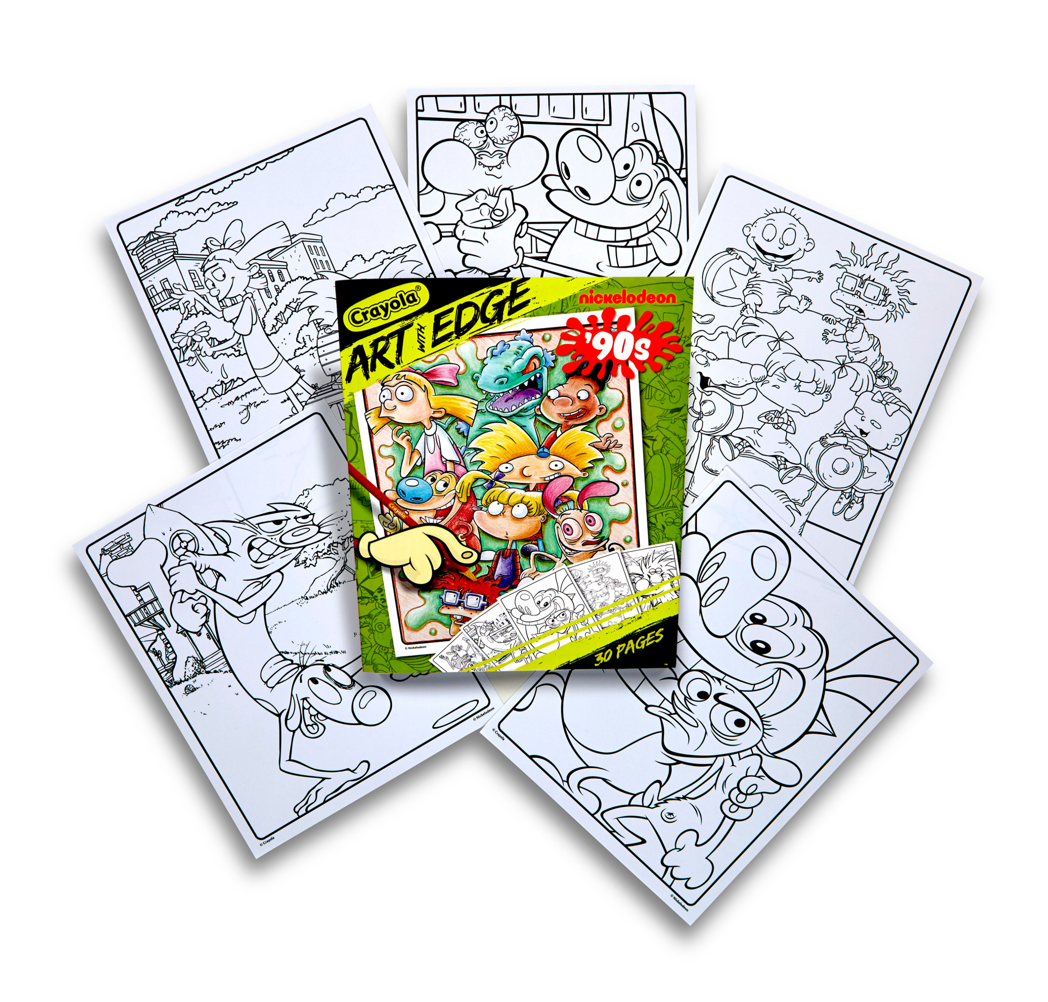 Amazon.com: Crayola Color Escapes Coloring Pages & Pencil Kit ... | 1958x2048