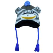 Aquarius Boys Brown Monkey Critter Style Peruvian Hat