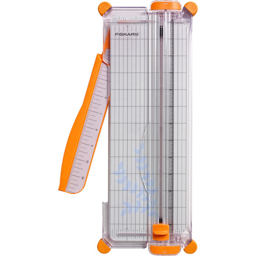 """Fiskars 12"""" Paper Trimmer, Up to 10 Sheets, 5 1/2"""" x 14"""""""