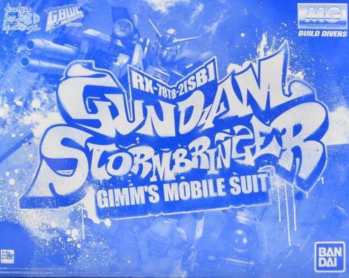 MG Gundam Build Divers Stormbringer 1//100 model kit P-Bandai Exclusive
