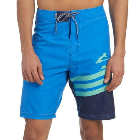 7cf83dbf71 Salt Life Men's Slx-qd Aqua Swim Trunks (nwt) Size 34 Royal Blue -  Walmart.com