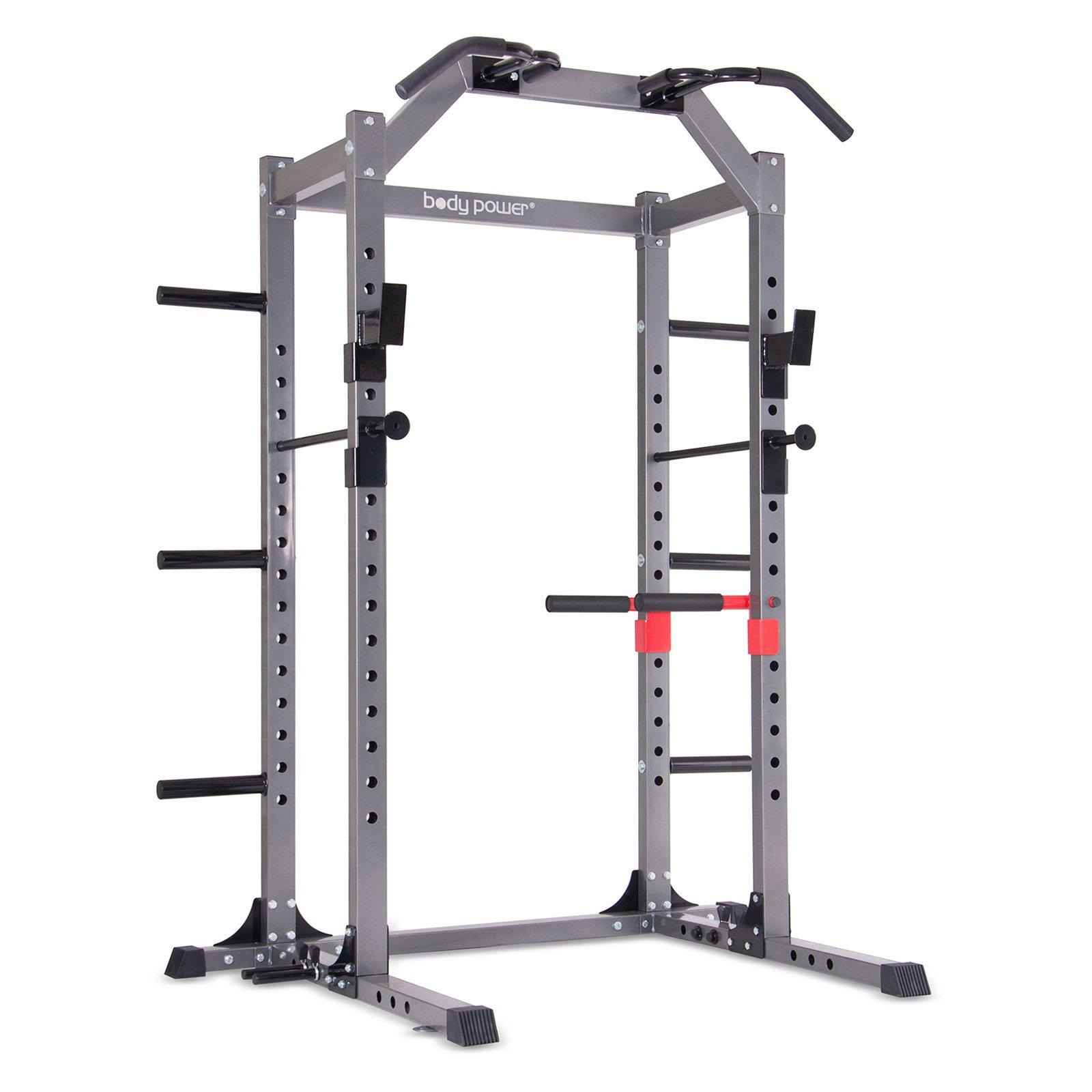 Body Flex Body Power Deluxe Rack Cage System