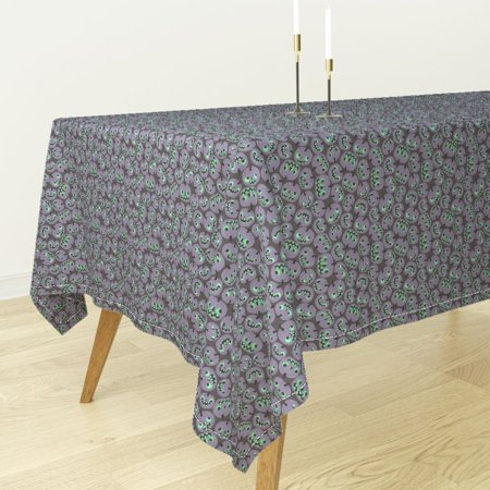 Tablecloth Halloween Pumpkin Jack O Lantern Vintage Sf926hal13 Cotton Sateen