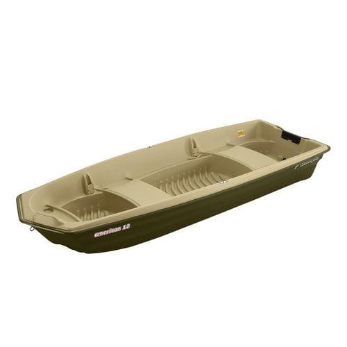 KL Industries American 12' Jon Boat Beige - Green