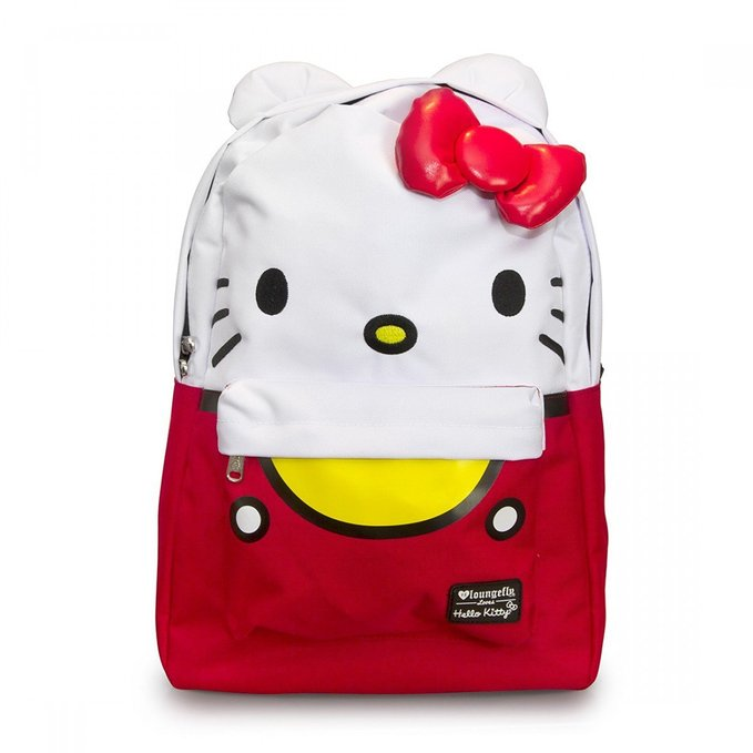 Loungefly Backpack - Hello Kitty - Large Face Sanrio New ...