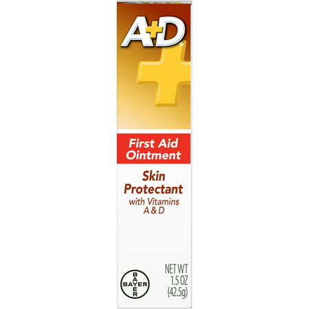 A+D First Aid Ointment With Lanolin, Protect Minor Cuts, 1.5 Ounce Tube