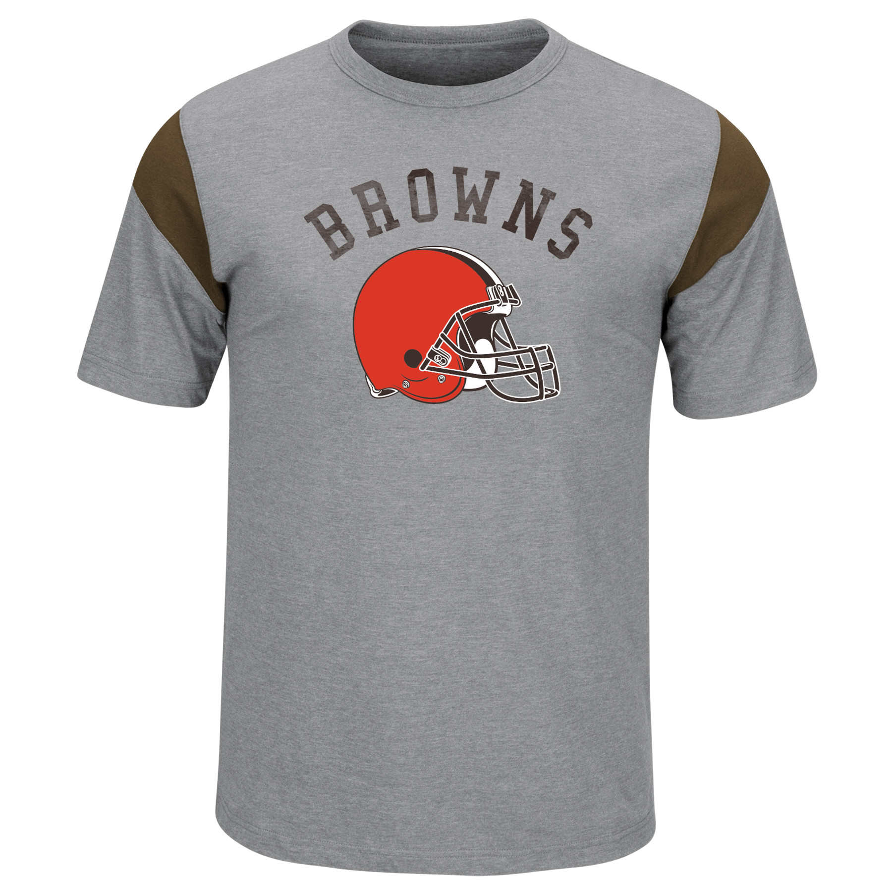 Cleveland Browns Majestic Pure Heritage T-Shirt - Gray