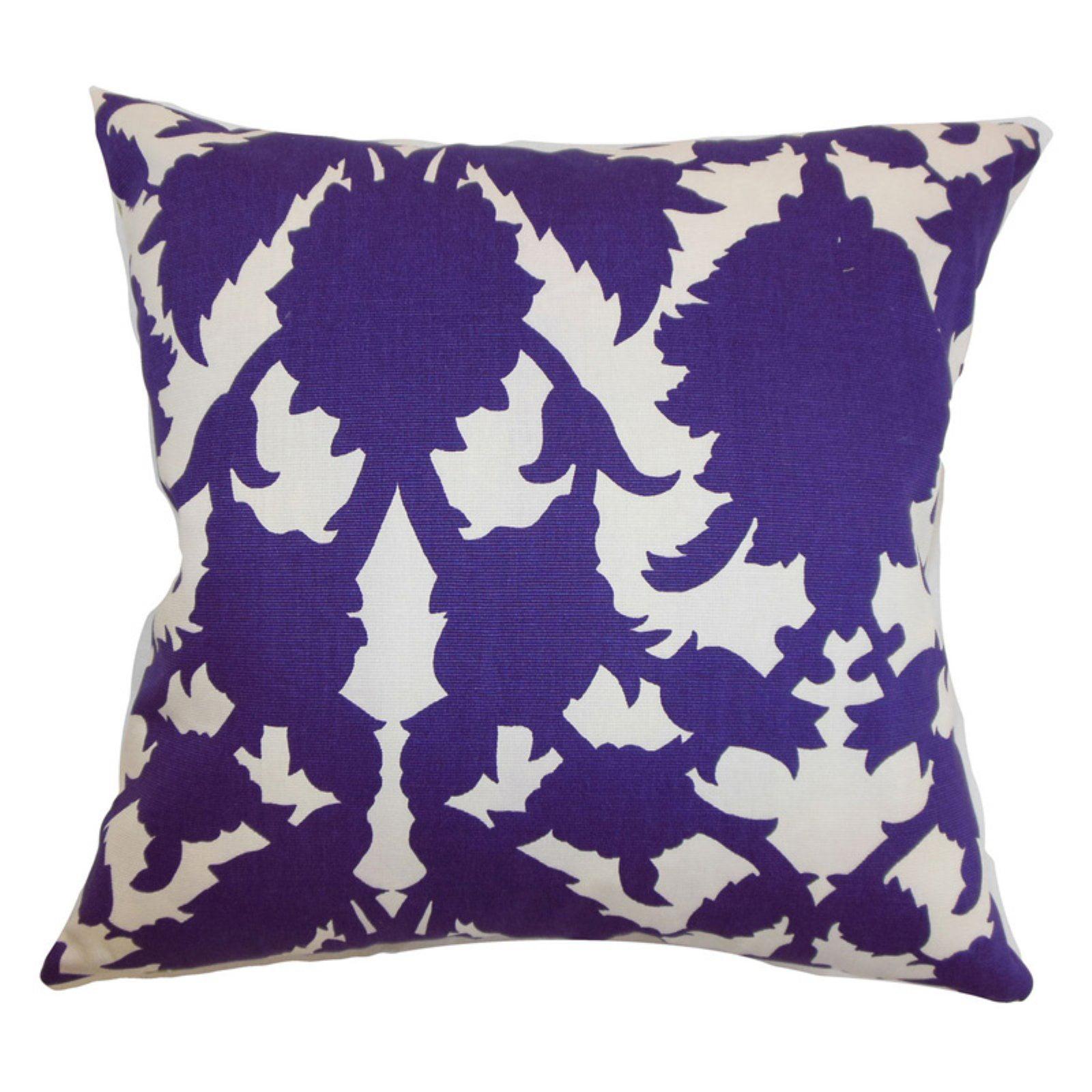 The Pillow Collection Fakahina Damask Pillow