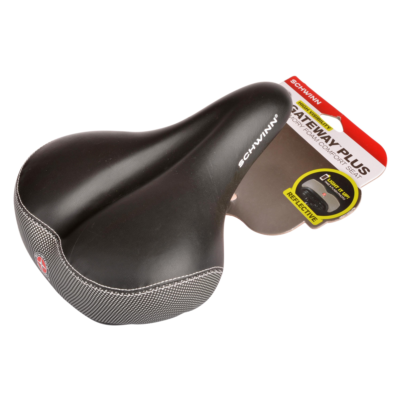 Schwinn High Visibility Memory Foam Comfort Seat