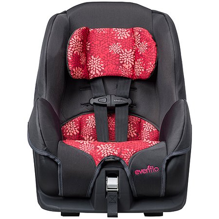 Evenflo Pink Mums Tribute LX Convertible Car Seat