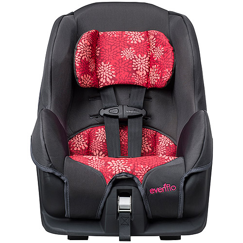 Evenflo Tribute LX Convertible Car Seat, Pink Mums
