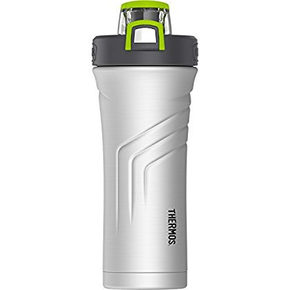 THERMOS Vacuum Insulated Stainless Steel Shaker Bottle with Integrated  Stationary Mixer 6ea681907