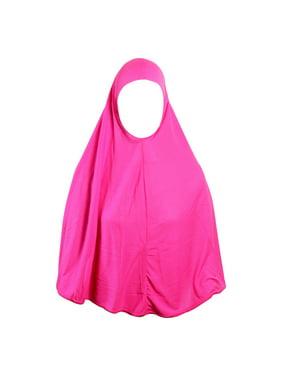 Hijaz Slip on Amira Shayla Hijab Jersey Tube Scarf Cotton One Piece