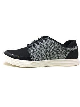 new style fc575 25c58 Product Image CCILU Mens Skool Logan Walking Shoe Lace Up Sneaker Black  White Size 8 M US