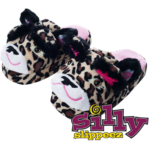 Silly Slippeez - Lucky Leopard - Glow in the Dark Slipper