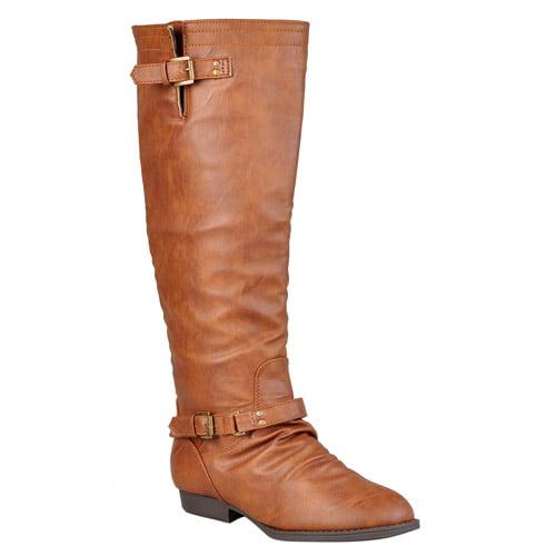 Brinley Co. Women's Tall Wide Calf Boots