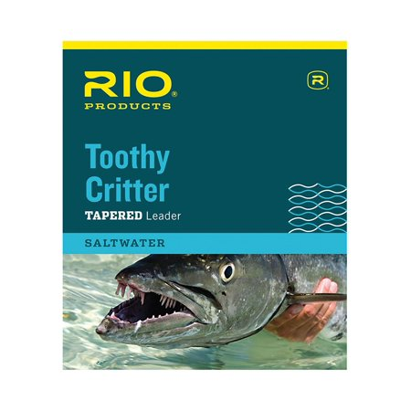 Toothy Critter Leader - Rio Toothy Critter Leader 7.5ft Tippet 45lb, By Rio Brands