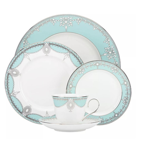 Elegant 48 Piece Dinnerware Set Service for 8  sc 1 st  Walmart.com & Imperial Gift Co. Elegant 48 Piece Dinnerware Set Service for 8 ...