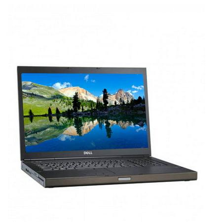 Refurbished Dell M6800 Gaming Laptop Core i7 2.7GHz Quad Core 16GB Memory 2TB Hard Drive Nvidia Graphics Windows 10 Pro 1.5 Tb Pro Quad