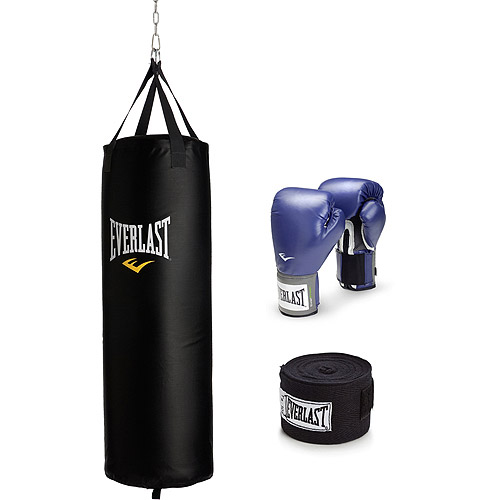 Everlast 70 lb Heavy Bag and Pro Style Boxing Kit