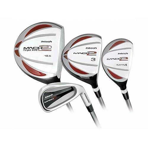 Intech Men's 9-Piece Golf Club Set, Right-Handed