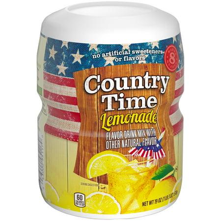 Country Time Lemonade Drink Mix 19 Oz  Jar